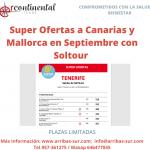 Canarias y Mallorca. Plazas limitadas