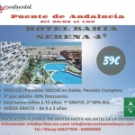 PUENTE DE ANDALUCIA. HOTEL BAHÍA SERENA 4* (Roquetas de Mar)