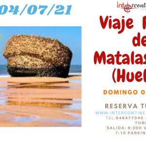 Excursión a la Playa de Matalascañas (Ida y Vuelta). 04/07/2021