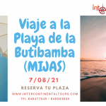 Excursión a Mijas, Playa de la Butibamba (Ida y Vuelta) 7/08/21